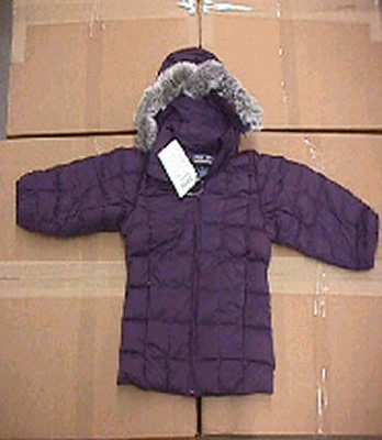 Picture of Recalled Little Girl's Fur Trimmed Parka