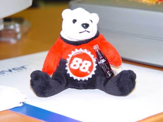 Picture of Recalled Bottle Cap Bear Key Chain