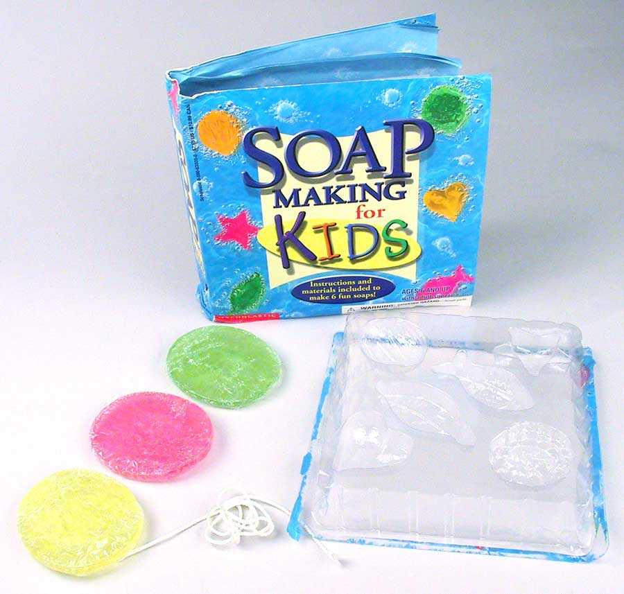Picture of Recalled Children's Soap Making Kit