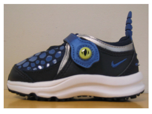 Picture of Recalled Nike children's athletic shoes
