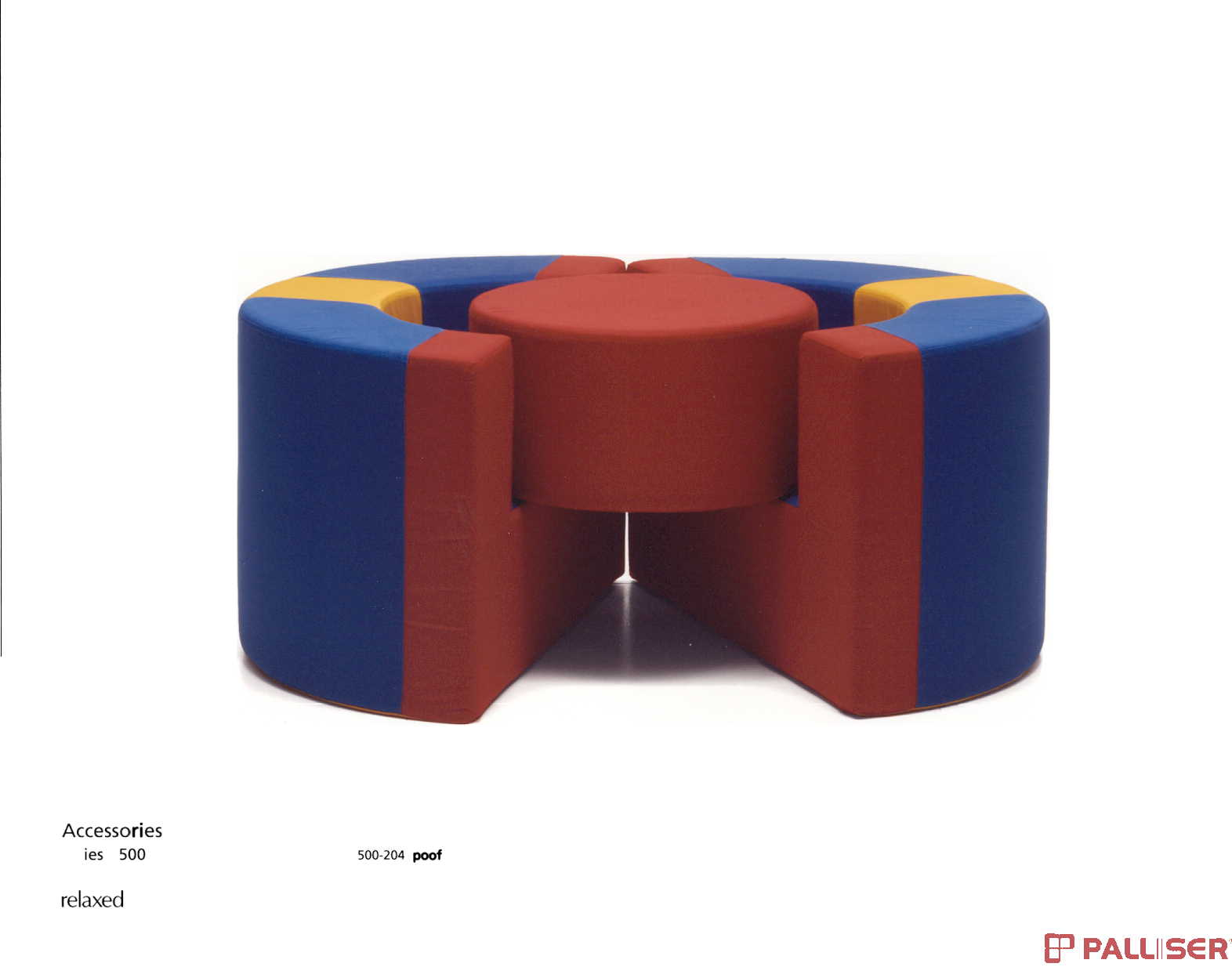 picture of recalled poof chair set