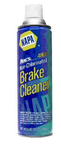 Picture of Recalled NAPA Brake Cleaner