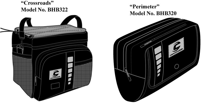 Picture of Recalled Handlebar Bags